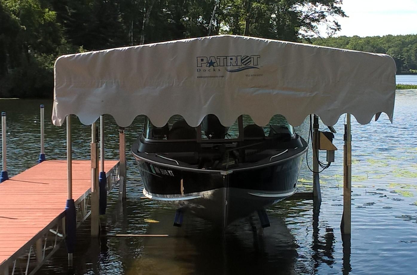Marine Boat Lift Canopy Covers